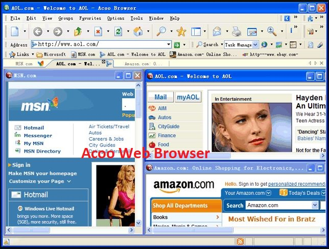 Acoo Web Browser Free Download Images, Acoo Web Browser Download Screenshots, Acoo Web Browser for WIndows 10 Pictures